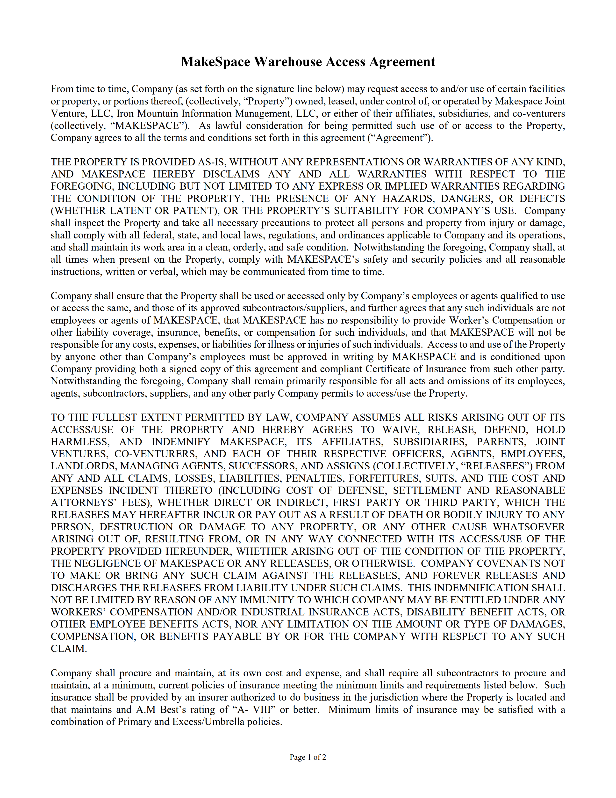 Makespace_-_Iron_Mountain_Facility_Access_Agreement__Company__2-20-20_FINAL_-_PAGE_1.png